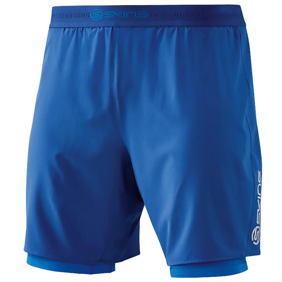 skins-dn-amic-men-superpose-half-tights-marine-xl-blue