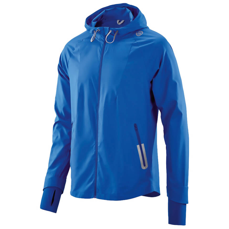 Skins Plus Mens Lightweight Packable Jacket Ultrablue L