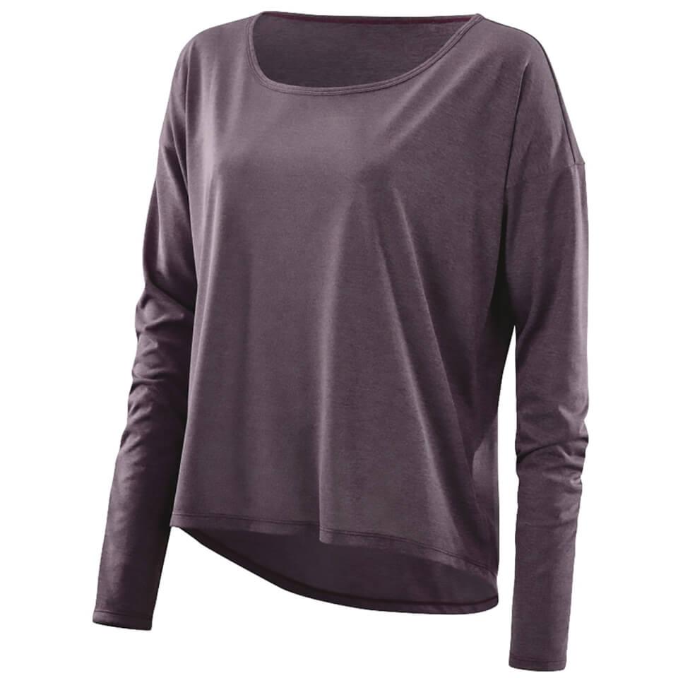skins-plus-women-pixel-long-sleeve-top-haze-marle-xs-purple
