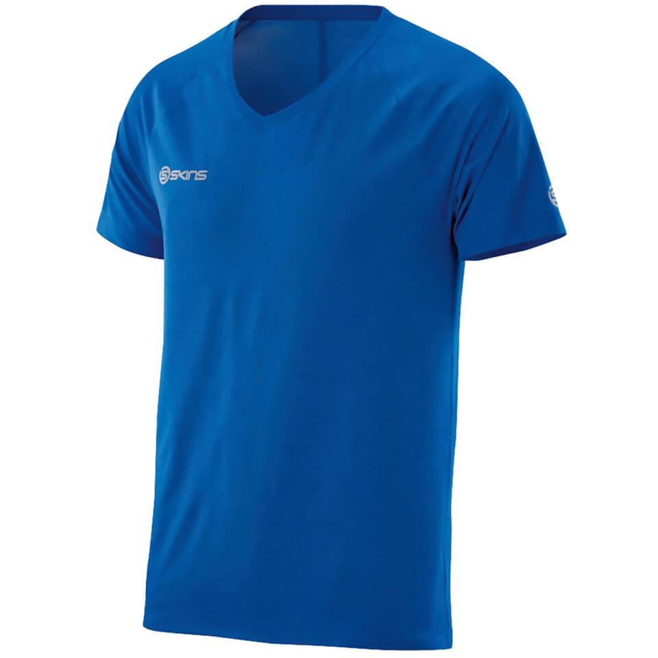 skins-plus-men-vector-v-neck-t-shirt-ultrablue-marle-m-blue