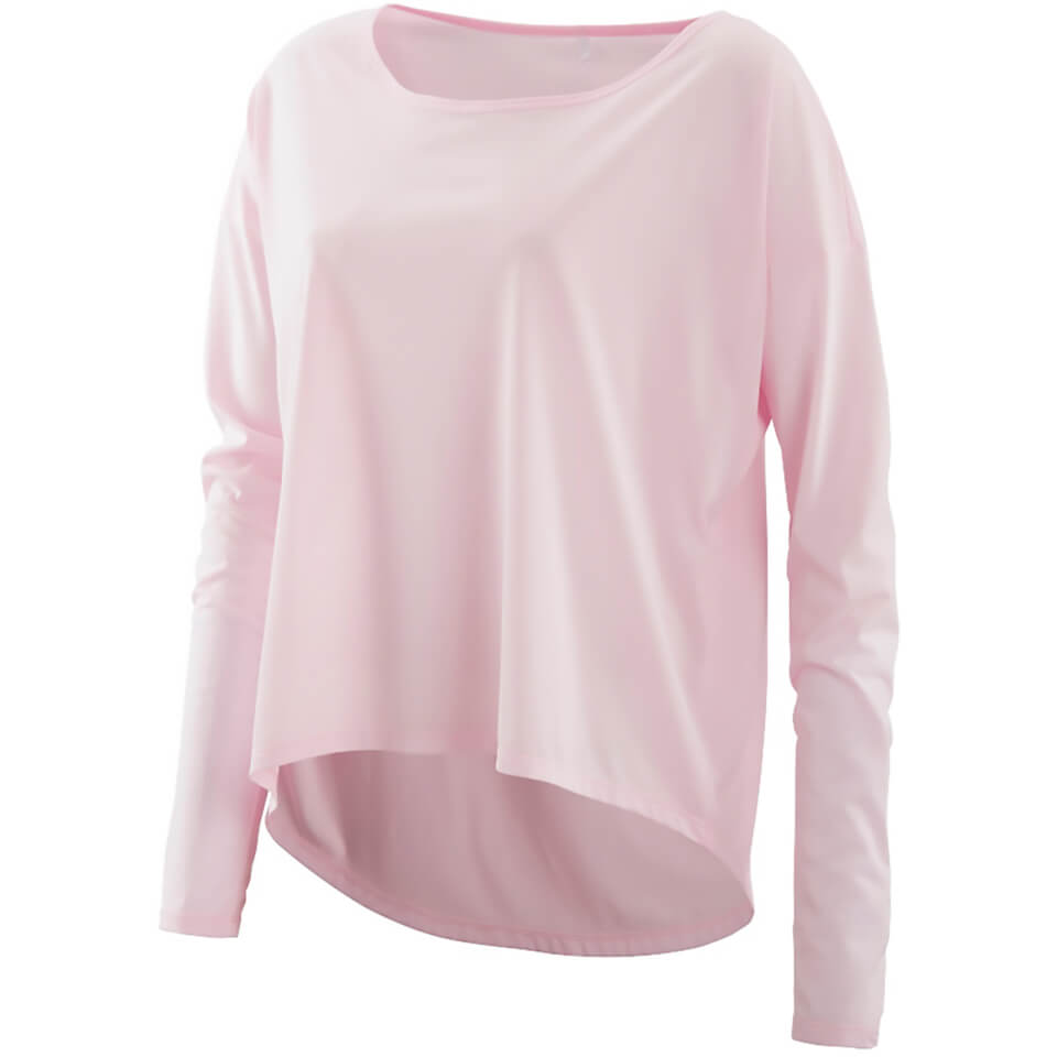 skins-plus-women-pixel-long-sleeve-top-champagne-marle-l-pink