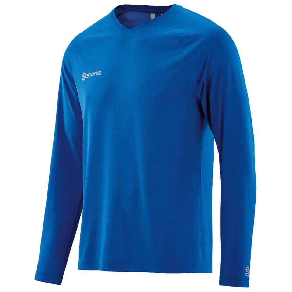 skins-plus-men-micron-long-sleeve-top-ultrablue-marle-s-blue