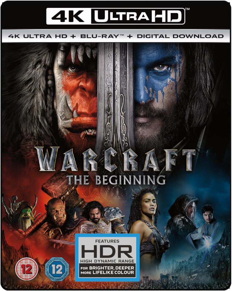 Warcraft 4k Ultra Hd Blu Ray Zavvi