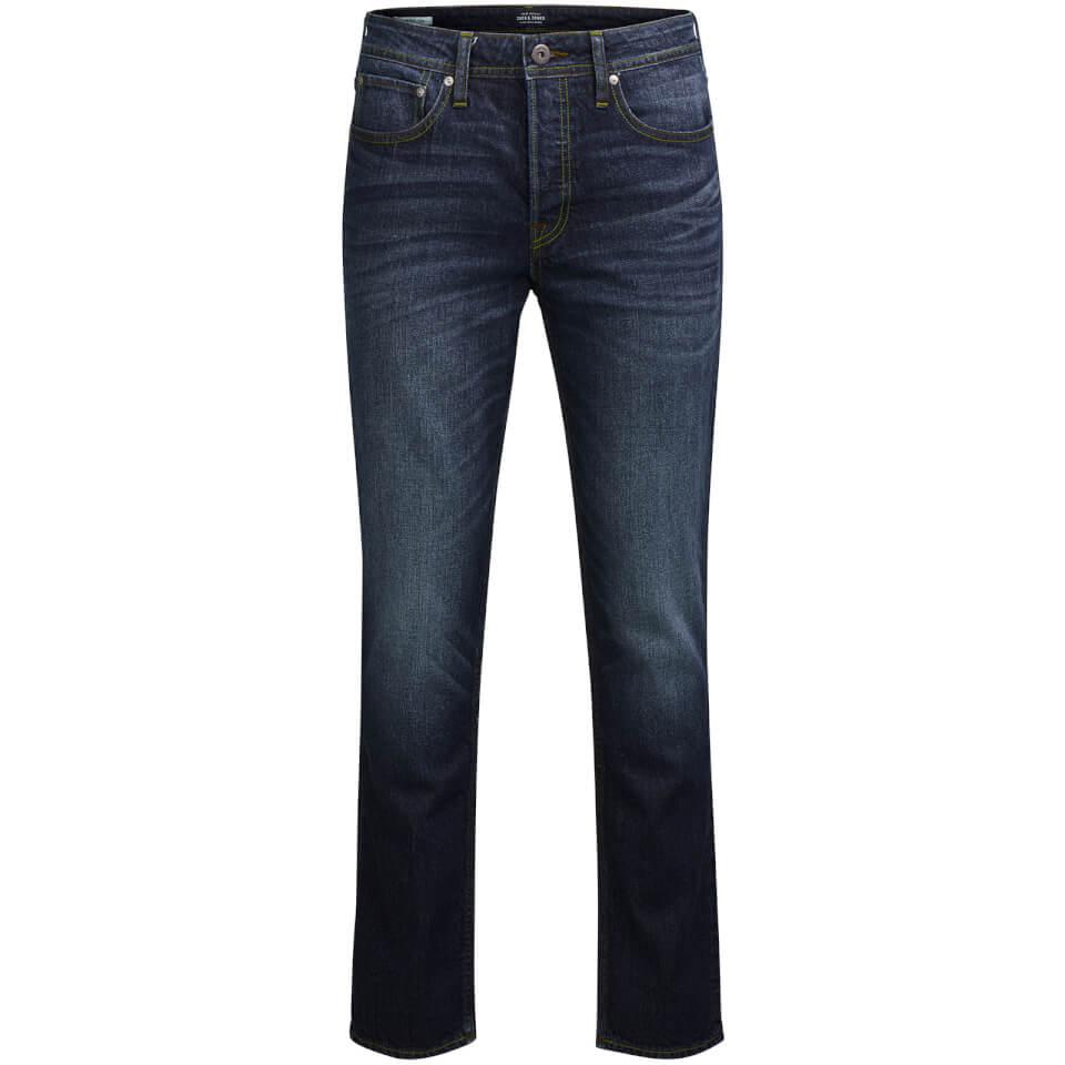 jack-jones-men-originals-tim-slim-fit-jeans-blue-denim-w34l30-blue