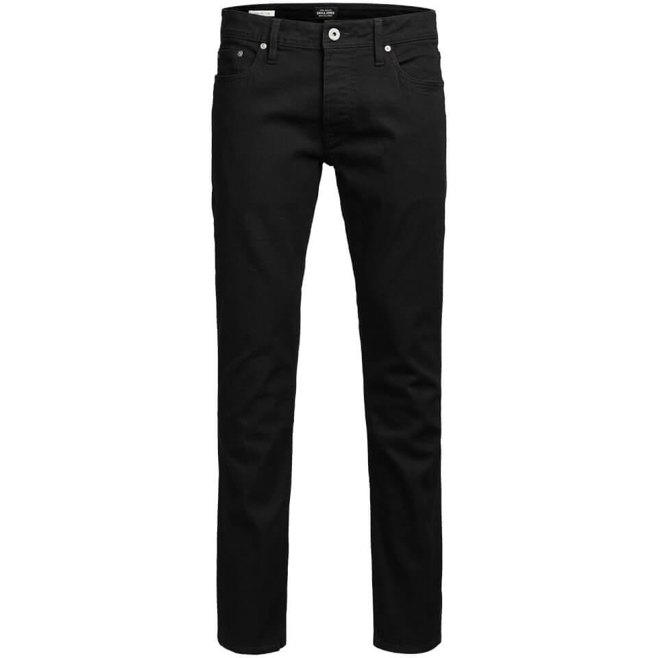 jack-jones-men-originals-tim-slim-fit-jeans-black-denim-w34l30-black