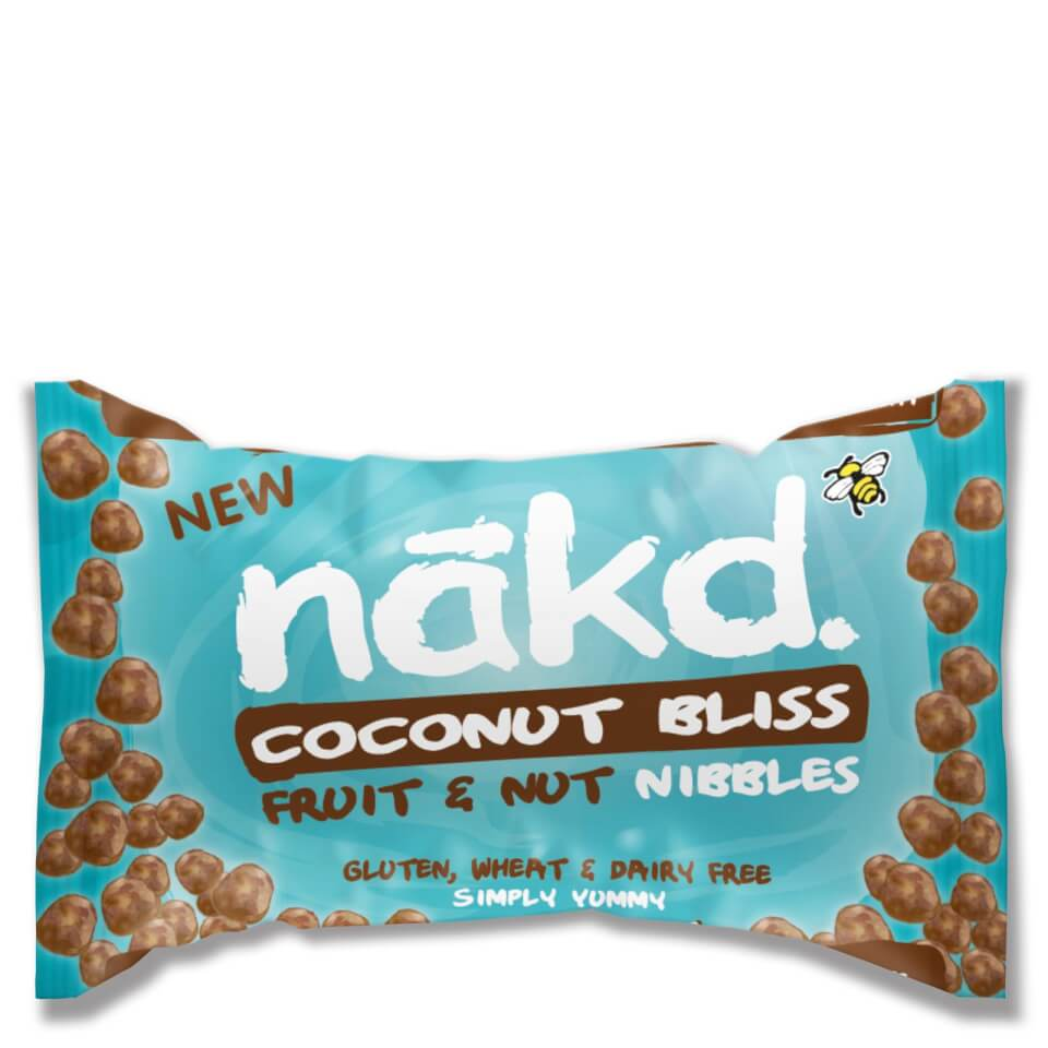 Nakd Coconut Bliss Nibble Bits - Box of 18
