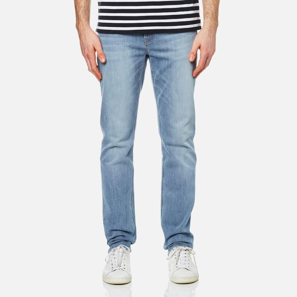 Michael Kors Mens Slim Indigo Jeans Shadow Blue W34/l34