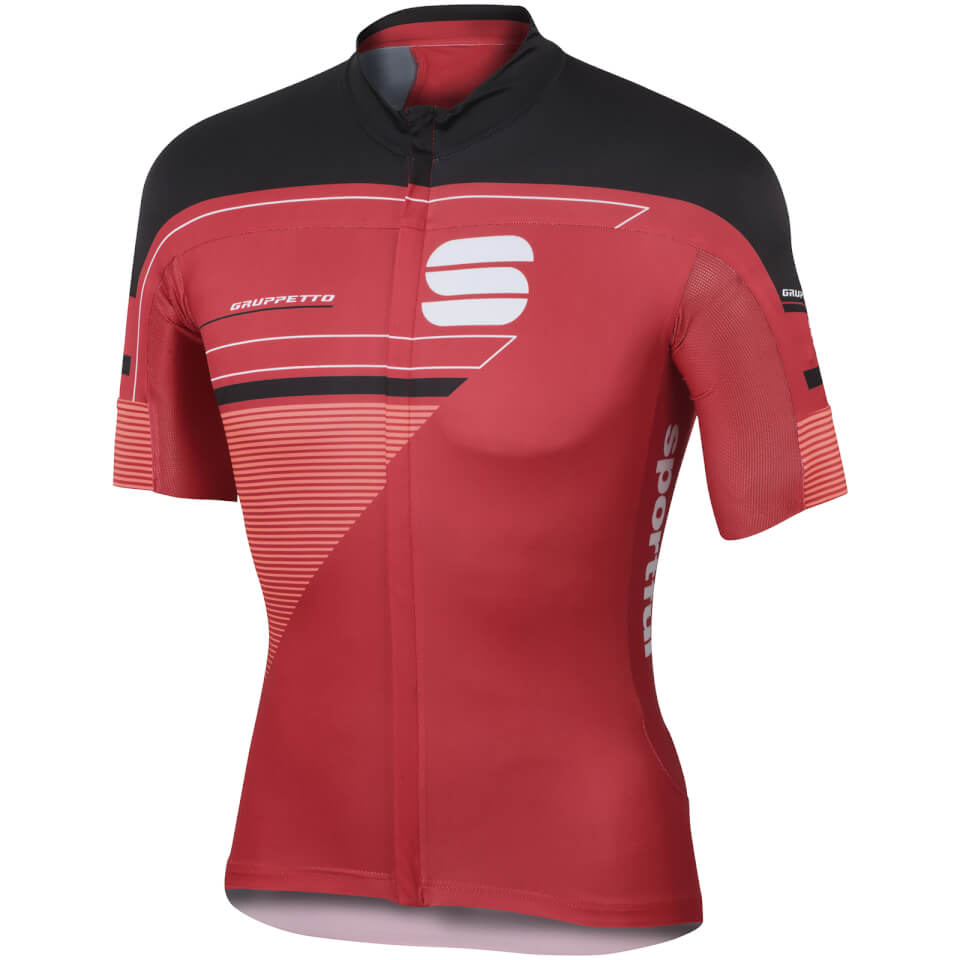 sportful-gruppetto-pro-short-sleeve-jersey-red-black-m-red-black