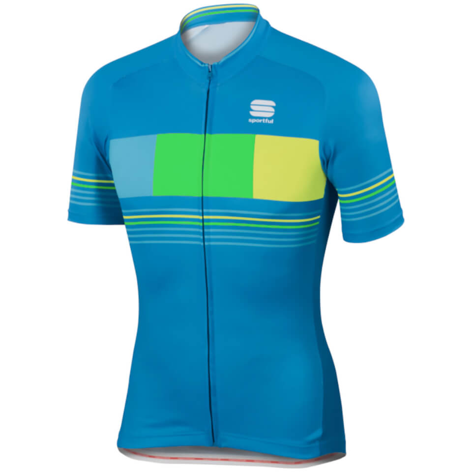 sportful-stripe-short-sleeve-jersey-blue-yellow-l
