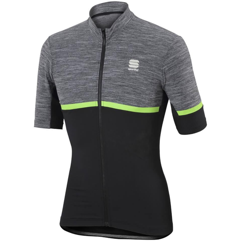 sportful-giara-short-sleeve-jersey-grey-black-green-s