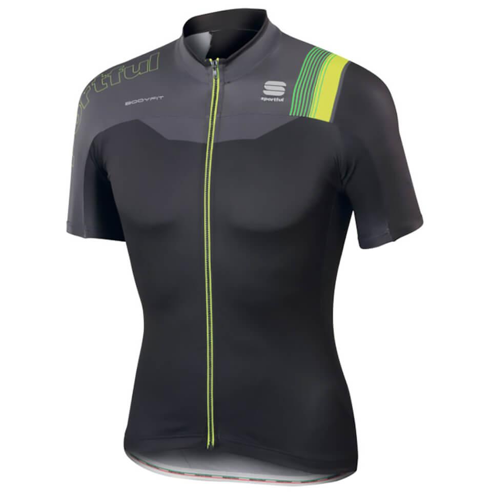 sportful-body-fit-pro-team-short-sleeve-jersey-black-grey-yellow-s-black-grey-yellow