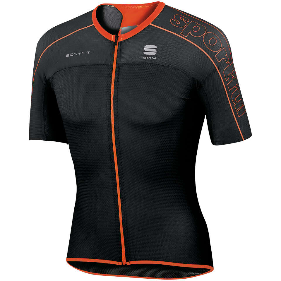 sportful-body-fit-ultra-light-short-sleeve-jersey-black-red-m