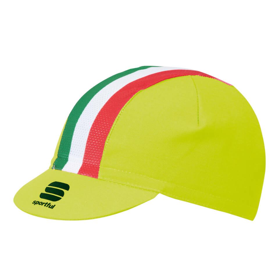 sportful-italia-cap-yellow-tricolore