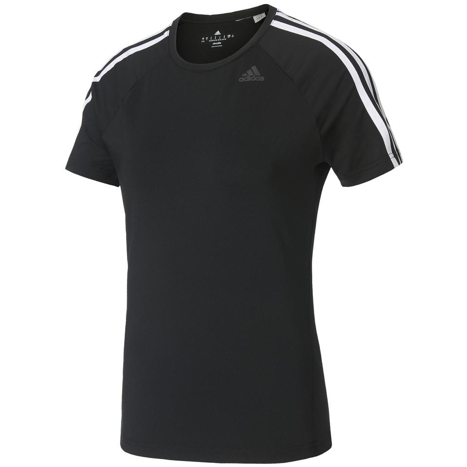 adidas-women-d2m-3-stripe-t-shirt-black-xs-black