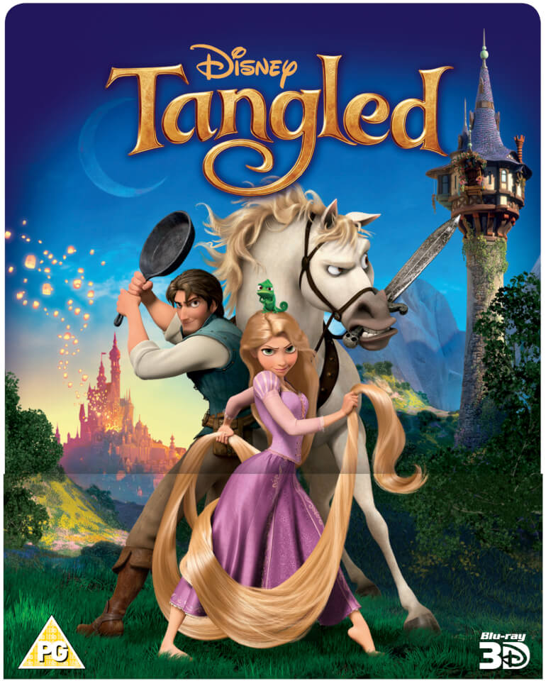 Tangled 3d includes 2d version zavvi exclusive - Images raiponce ...