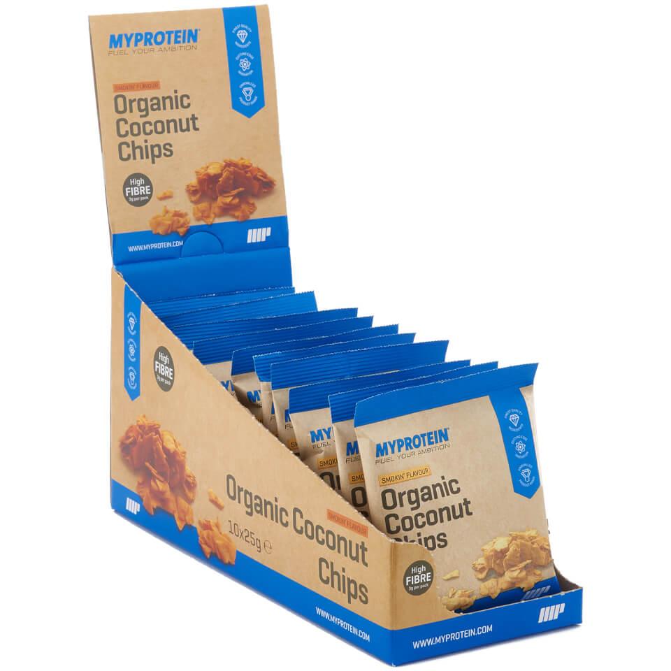 Chips de Coco Orgánico - 10 x 25g - Smokin'