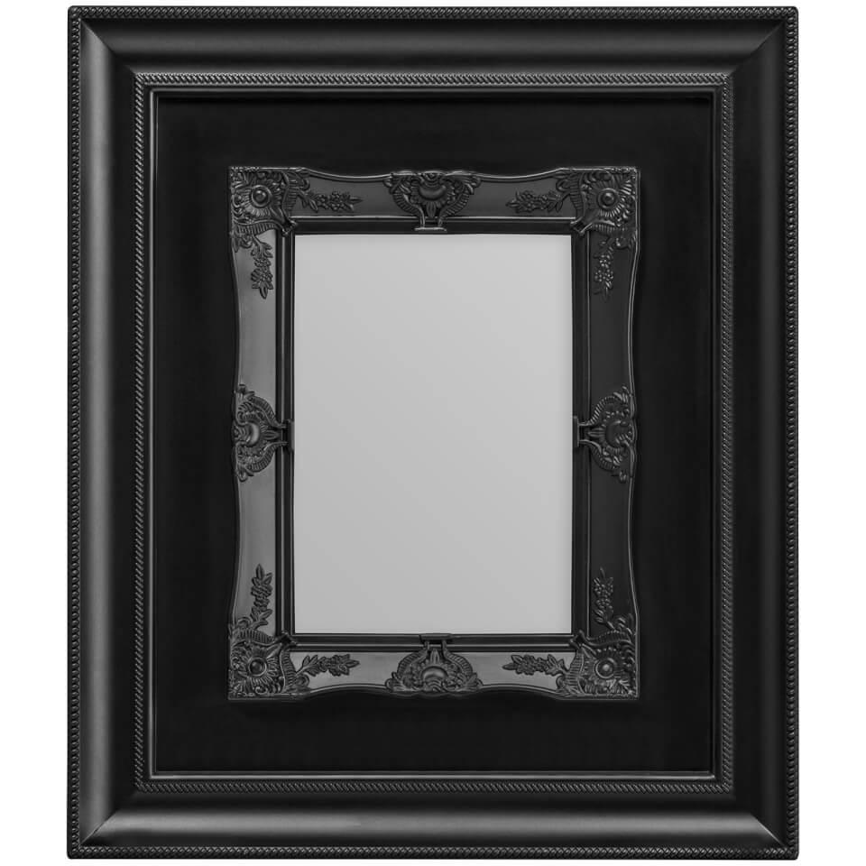 rococo-photo-frame-5-x-7-black