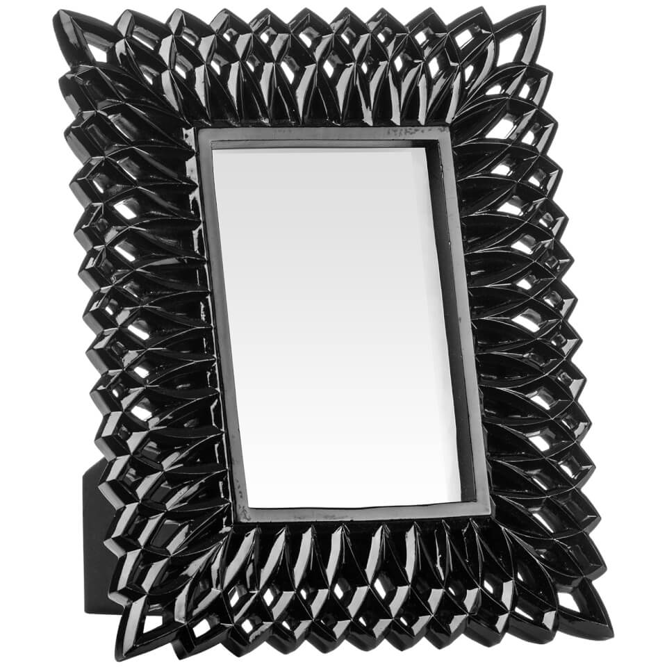 swirl-photo-frame-4-x-6-black-high-gloss