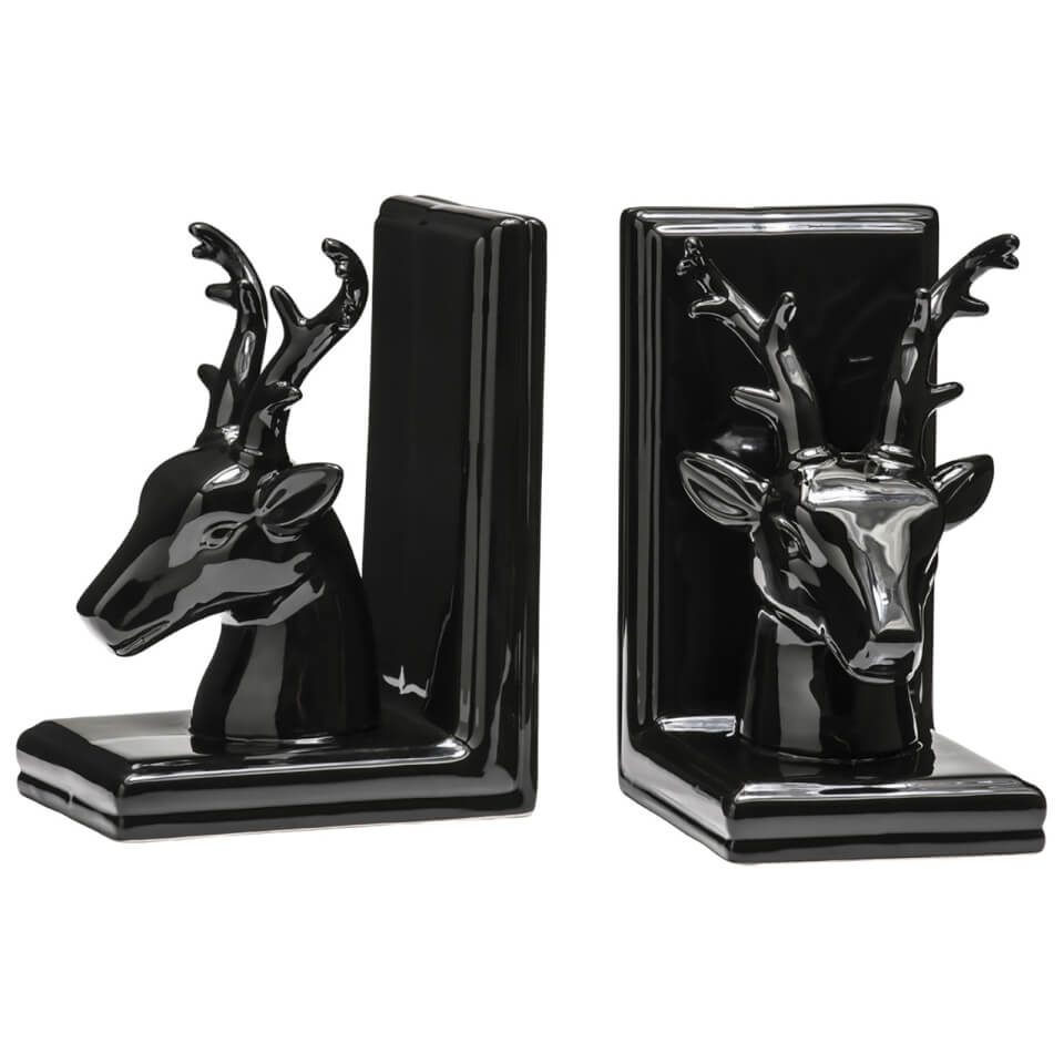 deer-bookends-set-of-2-black-dolomite