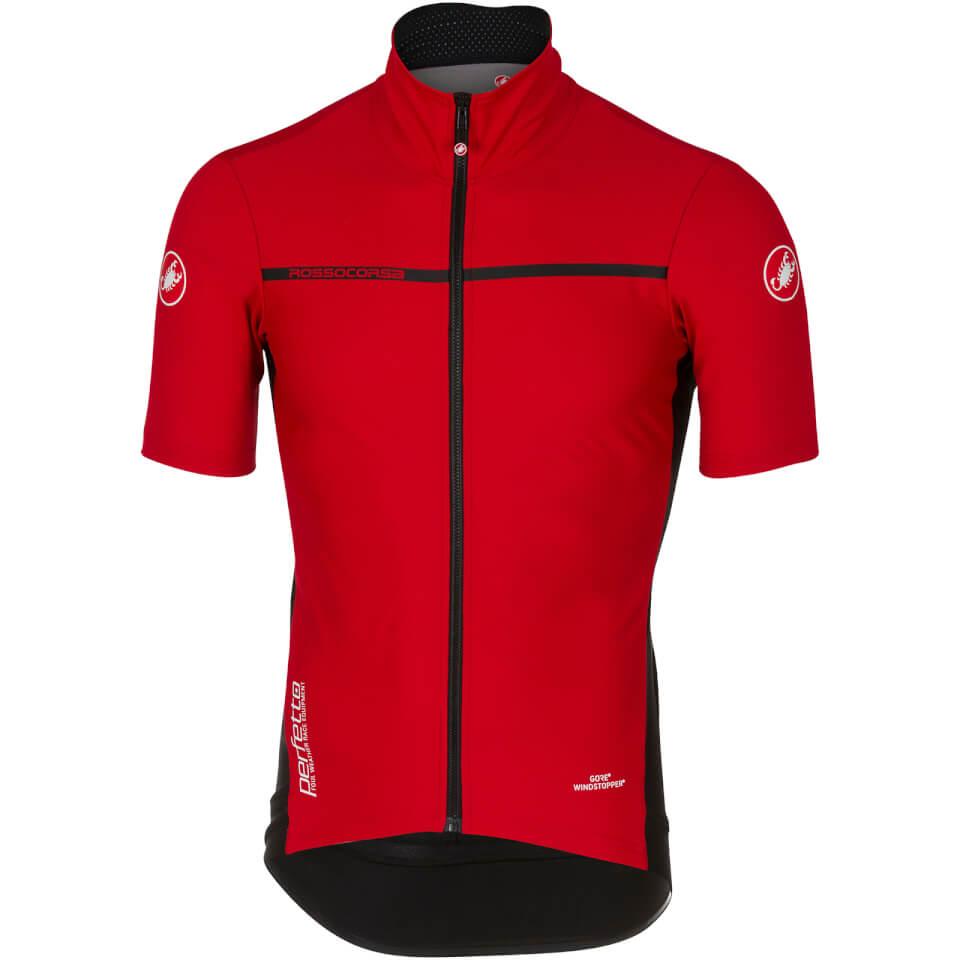 castelli-perfetto-light-2-jersey-red-m
