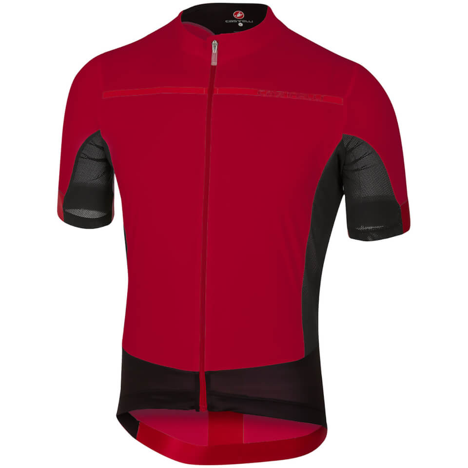 castelli-forza-pro-jersey-ruby-red-s-red