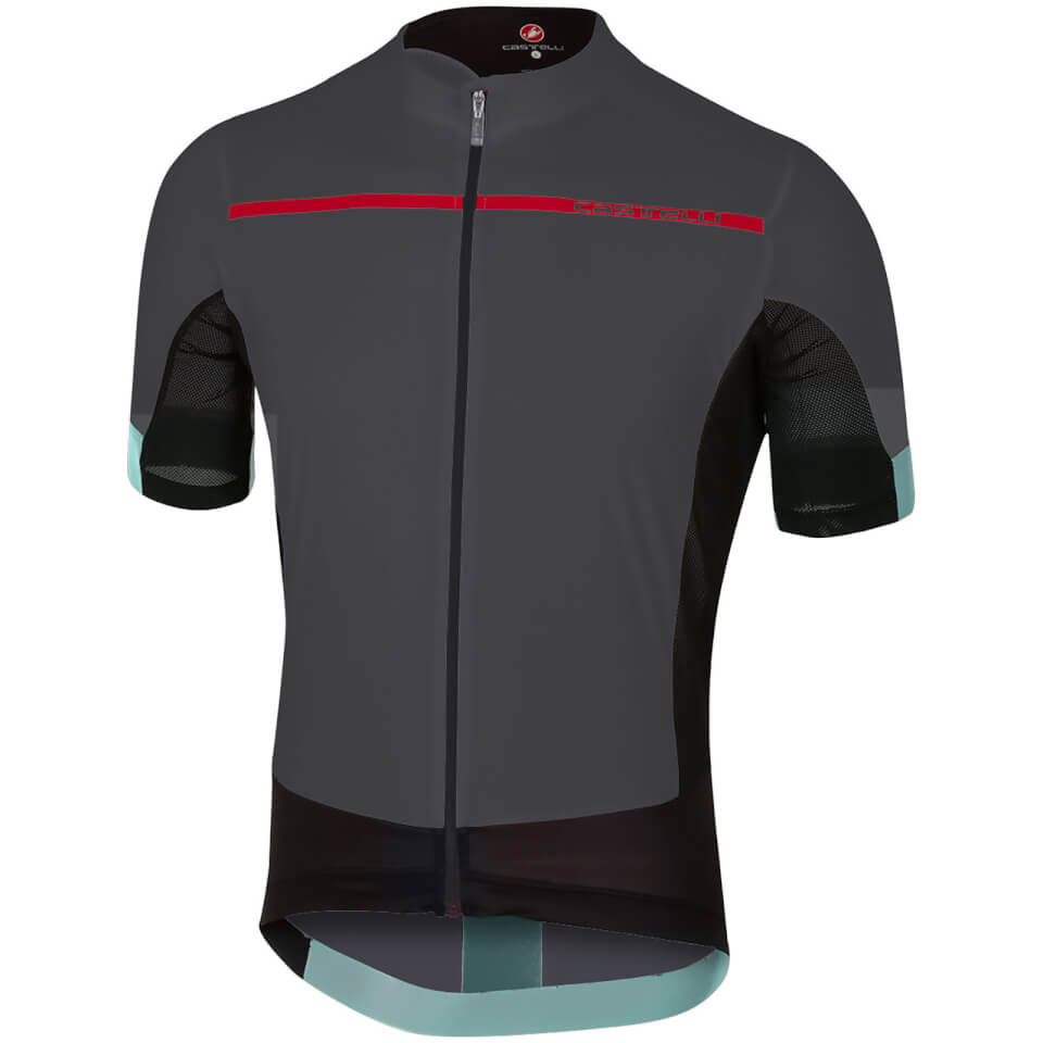 castelli-forza-pro-jersey-anthracite-red-s-black-red