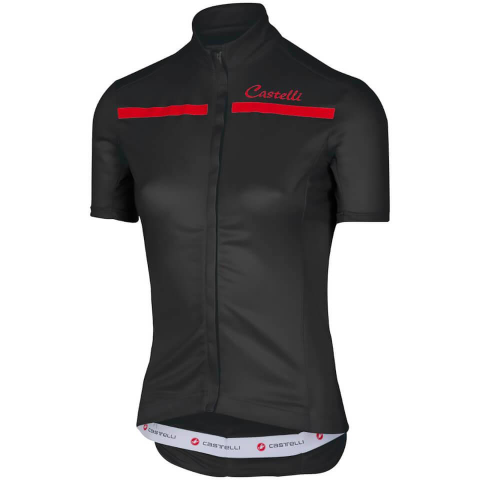 castelli-women-imprevisto-jersey-black-red-m-black-red