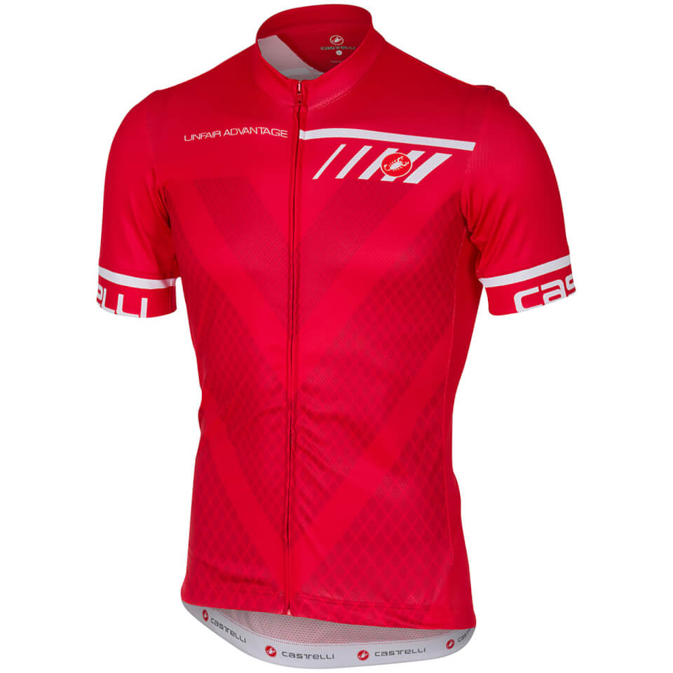 castelli-velocissimo-jersey-red-xl