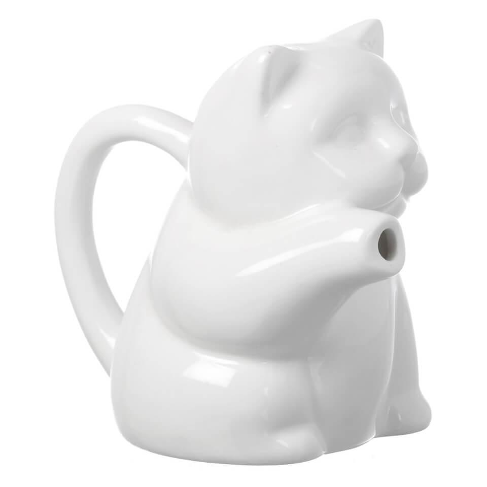 parlane-meeow-porcelain-milk-jug-white-12cm