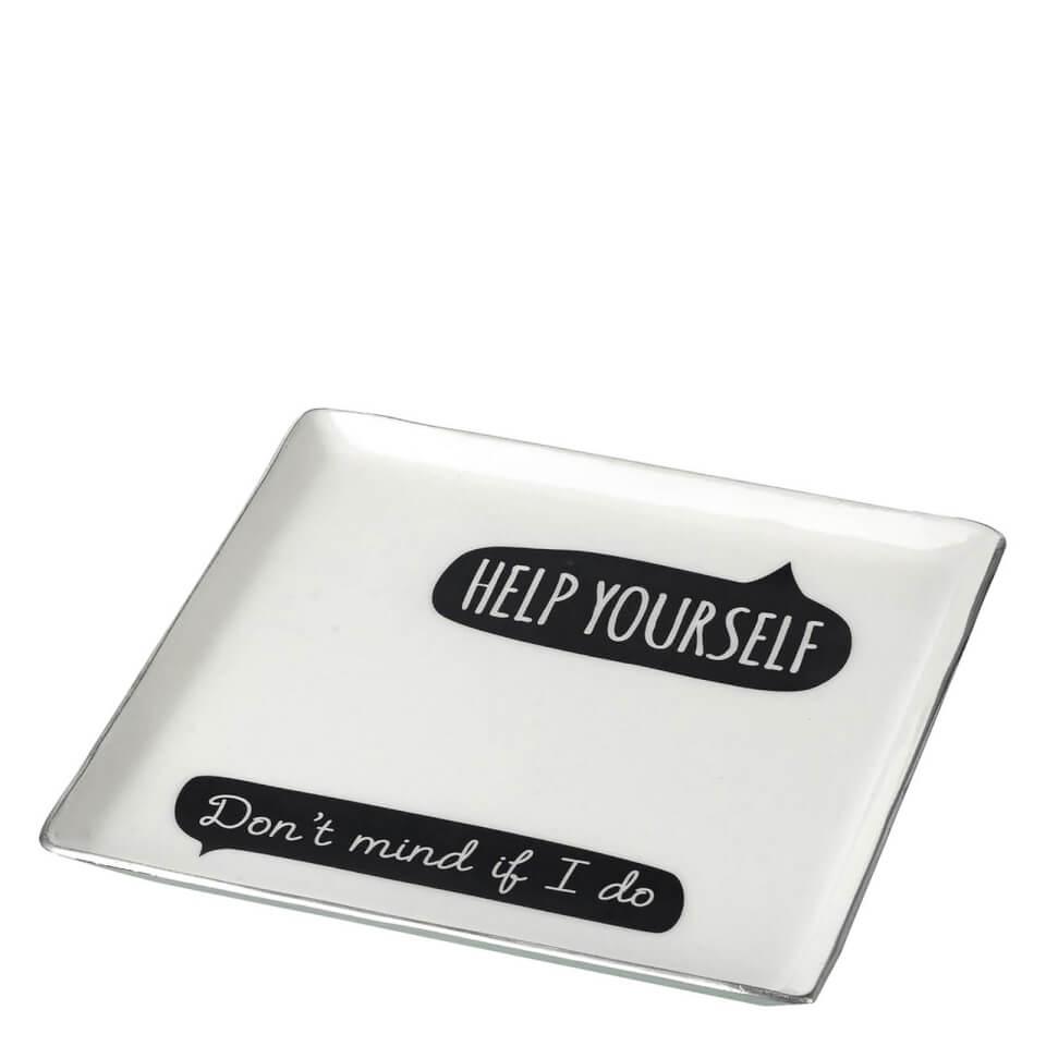 parlane-help-yourself-aluminium-square-plate-whiteblack-175-x-175cm