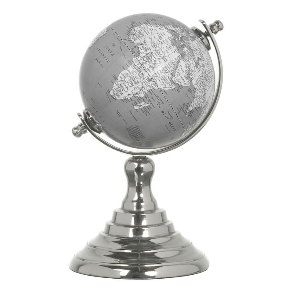 parlane-small-aluminium-globe-greywhite-16-x-10cm