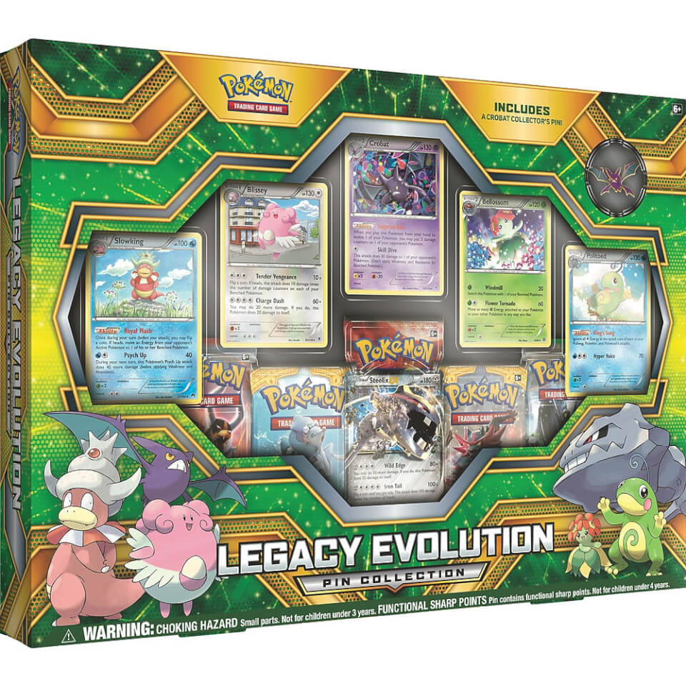 Pokemon TCG Legacy Evolution Pin Collection