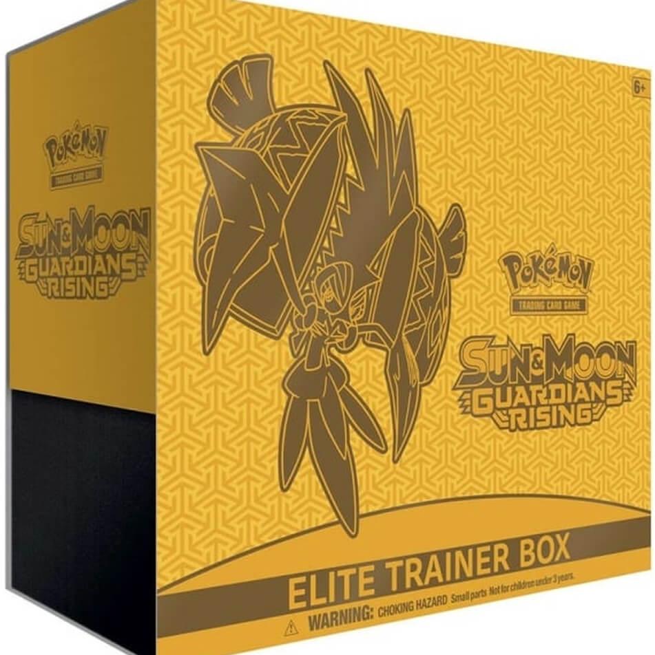 Pokemon TCG Sun Moon Guardians Rising Elite Trainer Box (May 2017)