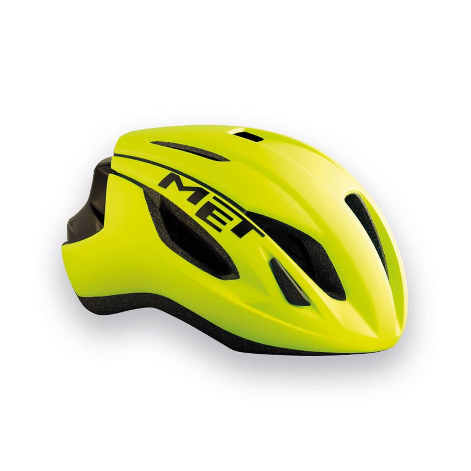 Met Strale Road Helmet - L/59-62cm - Yellow/Black