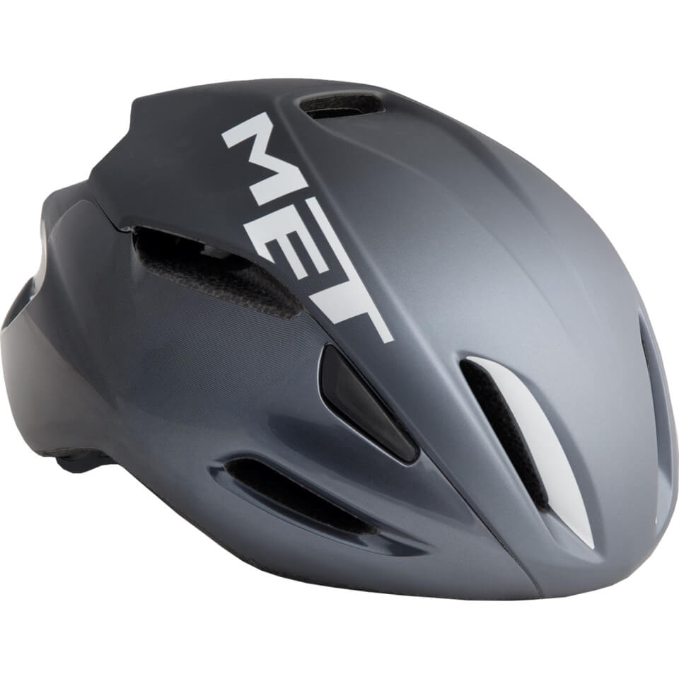 Met Manta Road Helmet - L/59-62cm - Black/White