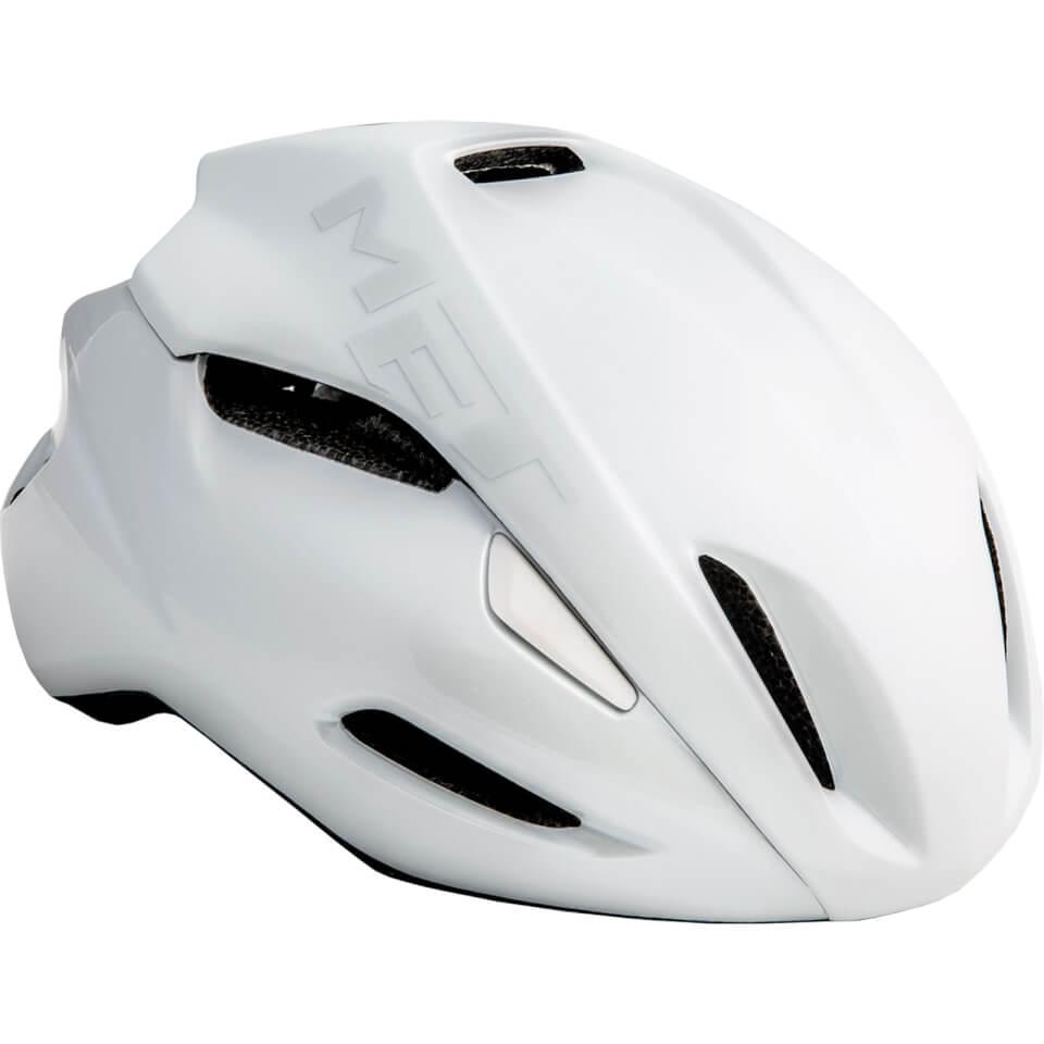 Met Manta Road Helmet - L/59-62cm - White