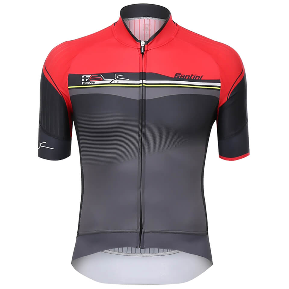 santini-sleek-plus-jersey-red-xl-red