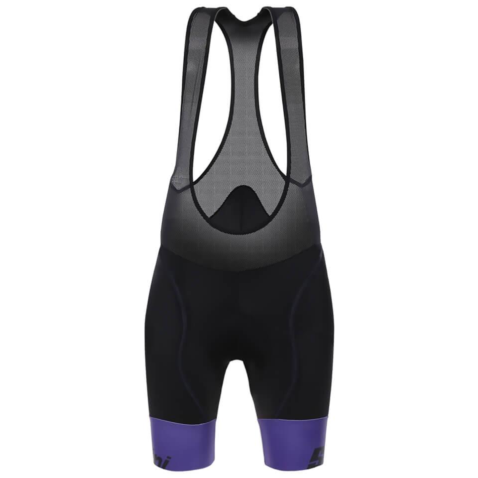 santini-women-wave-bib-shorts-black-purple-s