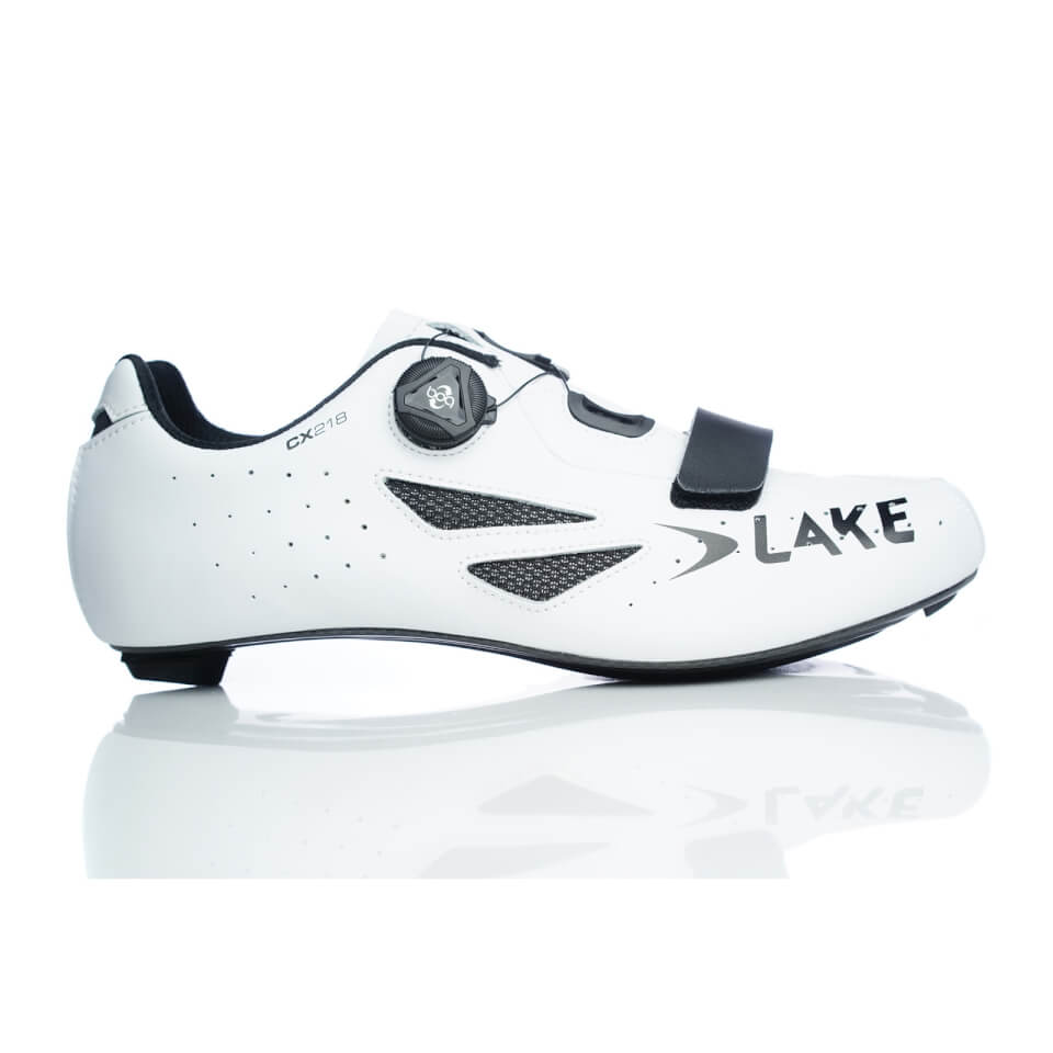 Lake CX218 Road Cycling Shoes | Shoes and overlays