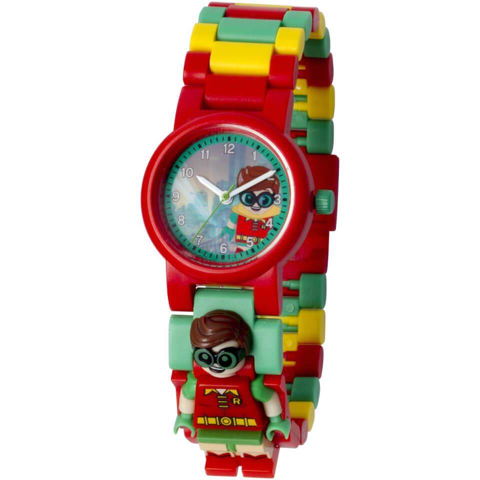 LEGO Batman Movie Robin Minifigure Link Watch