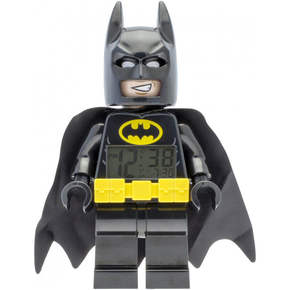 THE LEGO® BATMAN MOVIE Batman™ Minifiguren Uhr mit Wecker