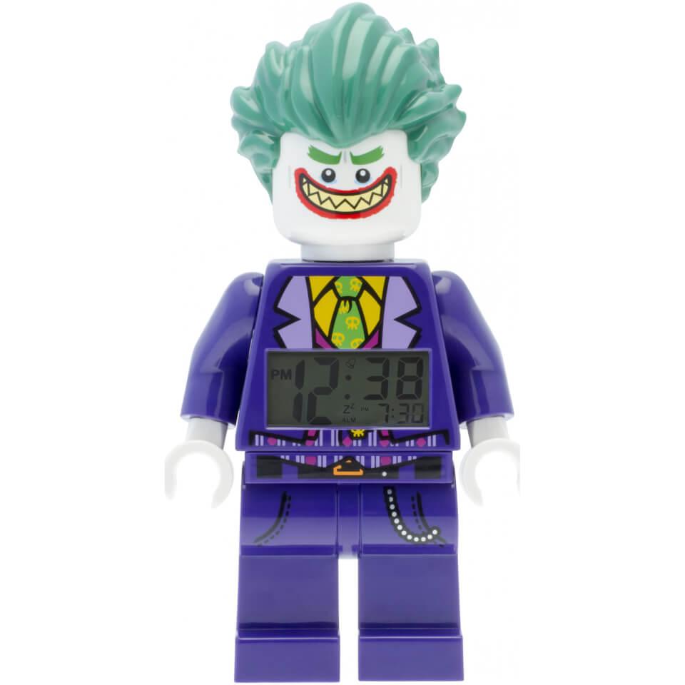 THE LEGO® BATMAN MOVIE Joker™ Minifiguren Uhr mit Wecker