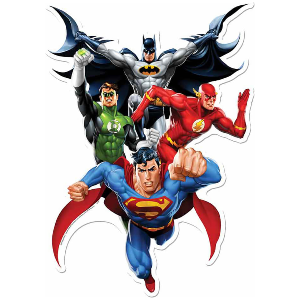 justice-league-jla-heroes-wall-art