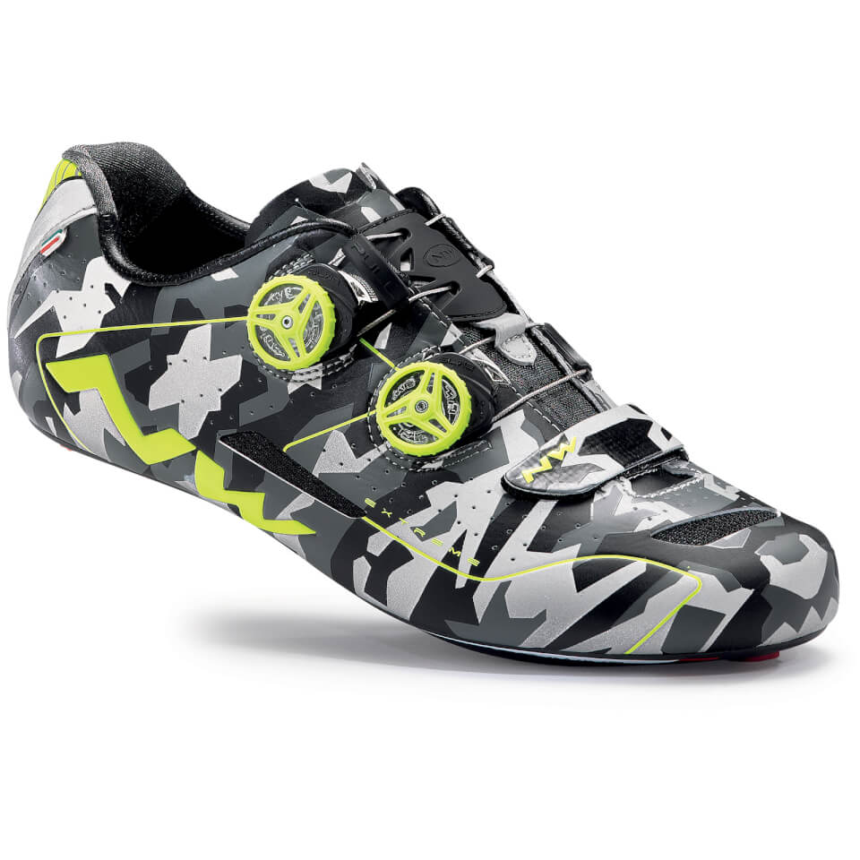 northwave-extreme-cycling-shoes-reflective-camoyellow-45