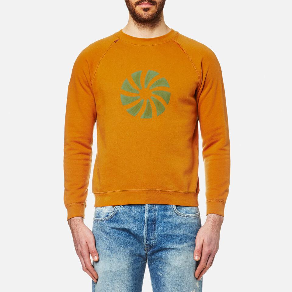 Levis Vintage Mens 1960s Sweatshirt Elevators Peanut/green S