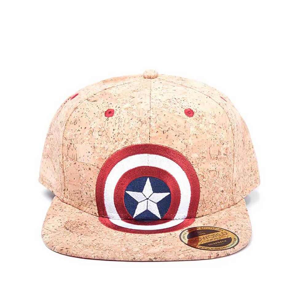 Marvel Captain America Civil War Shield Logo Snapback Kork