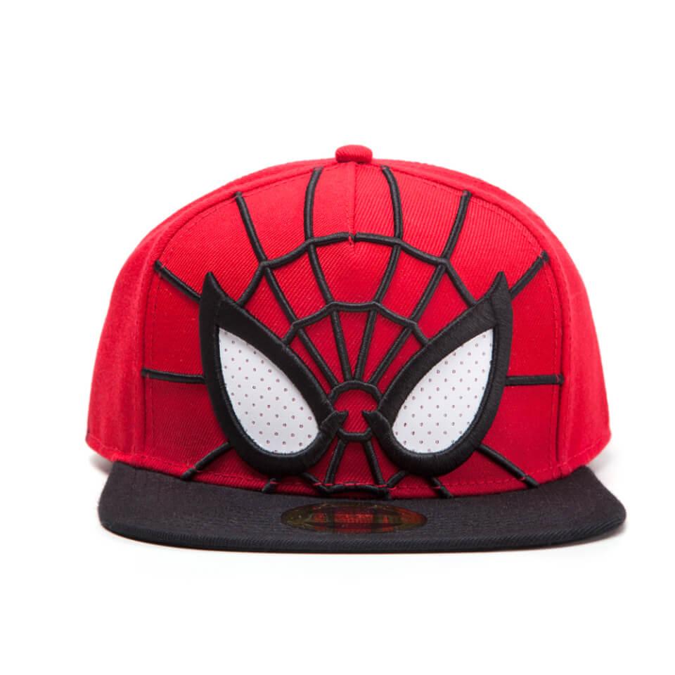 marvel-spider-man-3d-mesh-eyes-snapback-cap-redblack