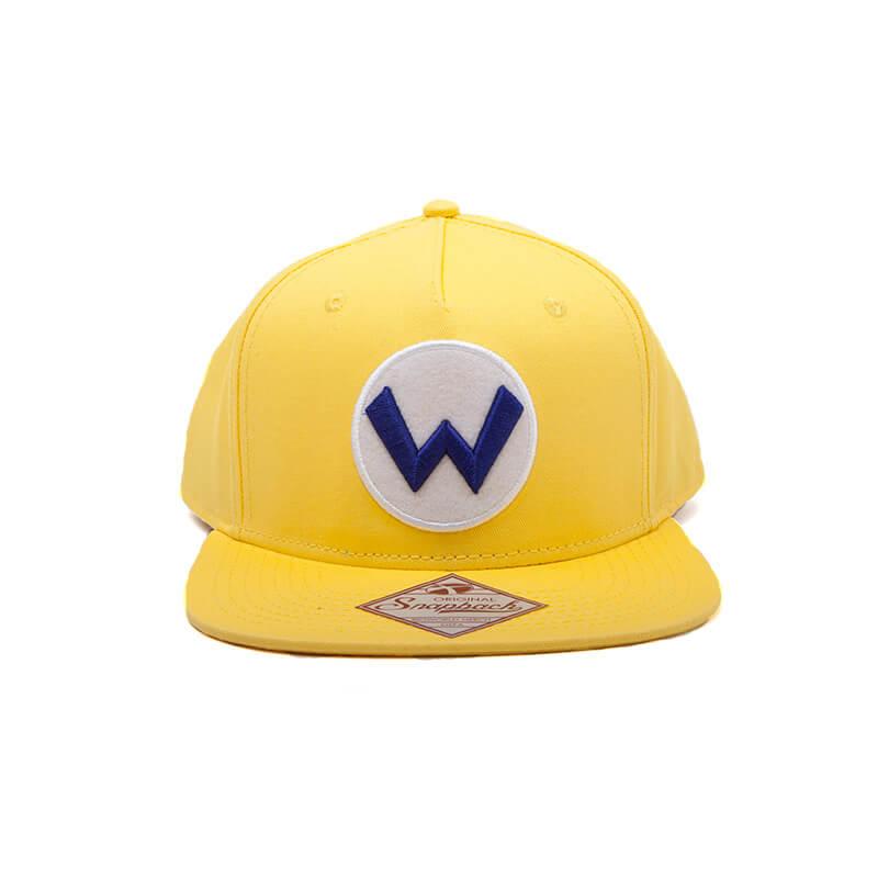 nintendo-super-mario-wario-logo-snapback-cap-yellow