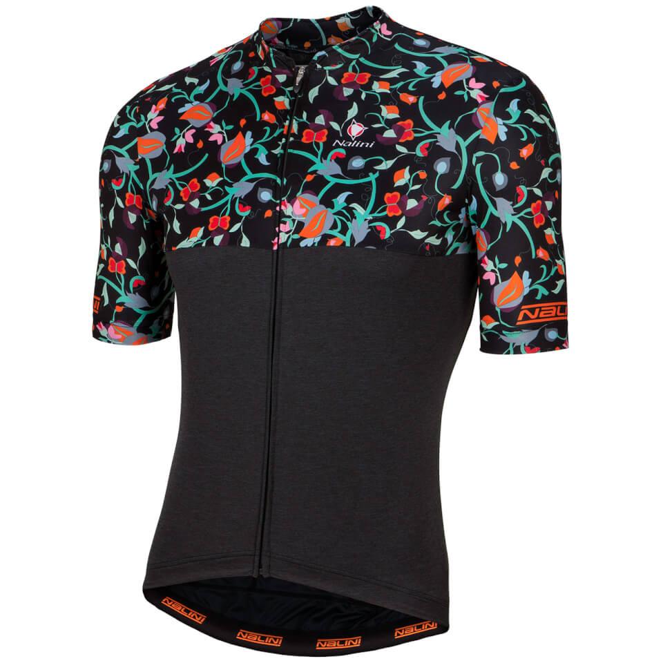 nalini-san-babila-short-sleeve-jersey-black-fluo-xl-black-fluo