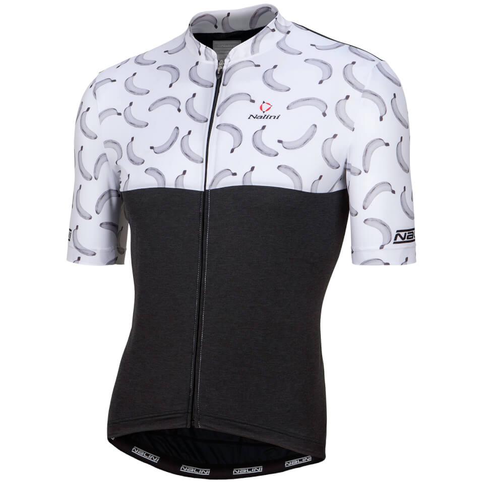 nalini-san-babila-short-sleeve-jersey-black-white-xxl-black-white